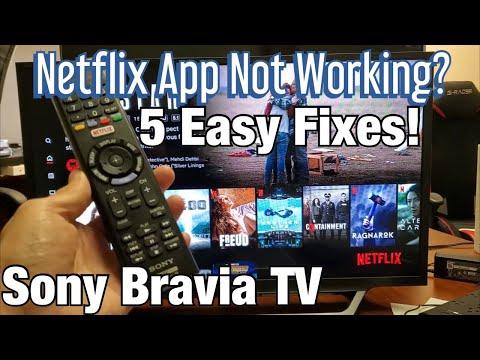 Netflix Not Working on Sony Bravia TV? 5 Easy Fixes