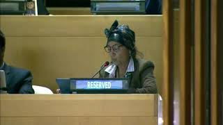 Fenmei Niahosa's Intervention at HLPF 2019: http://webtv.un.org