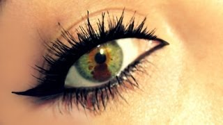 Liquid Eyeliner for Dummies! - YouTube