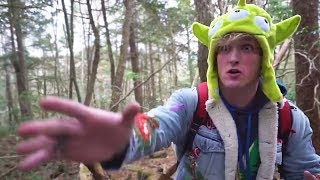 Logan Paul Suicide Forest Vlog! *SCARY*