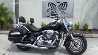 10. 2009 Kawasaki Vulcan Voyager for sale in Tampa Florida