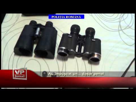 Au împușcat un… dosar penal