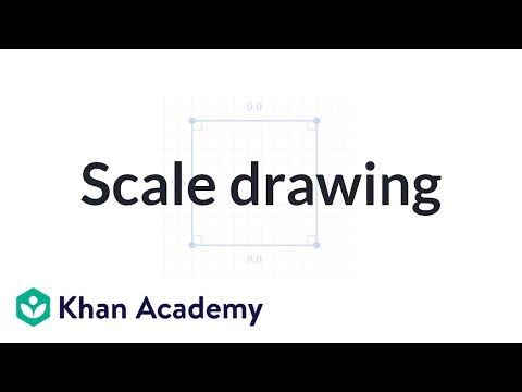 Making A Scale Drawing Video Geometry Khan Academy
