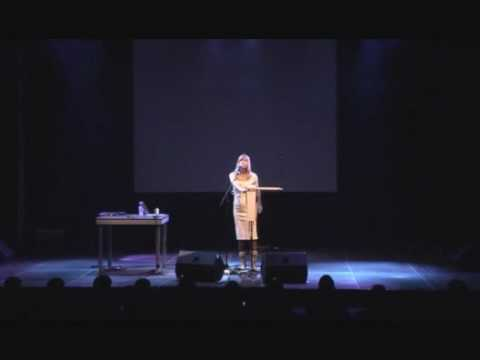 Dorit Chrysler at Shift Electronic Arts Festival Basel, Switzerland