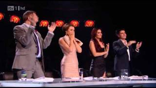 Matt Cardle   First time  ever saw your face(full with judges reactions)