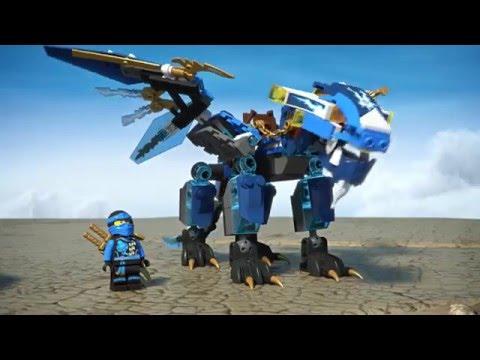 Конструктор Дракон Джея - LEGO NINJAGO - фото № 8
