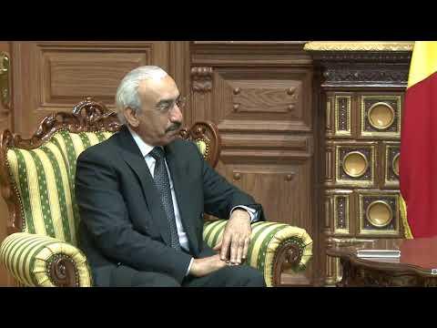 Игорь Додон провел встречу с Послом Государства Катар в Республике Молдова
