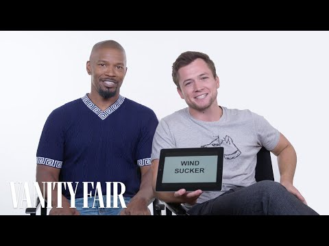 Jamie Foxx and Taron Egerton Teach You Medieval