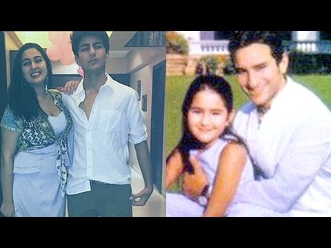Saif Ali Khan Daughter Sara Ali Khan | RARE Childh