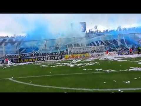 Video - Recibimiento vs Santamarina   Atlético Tucumán 4-1 Santamarina - La Inimitable - Atlético Tucumán - Argentina - América del Sur