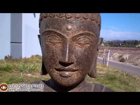 Meditating Stone Garden Buddha 39