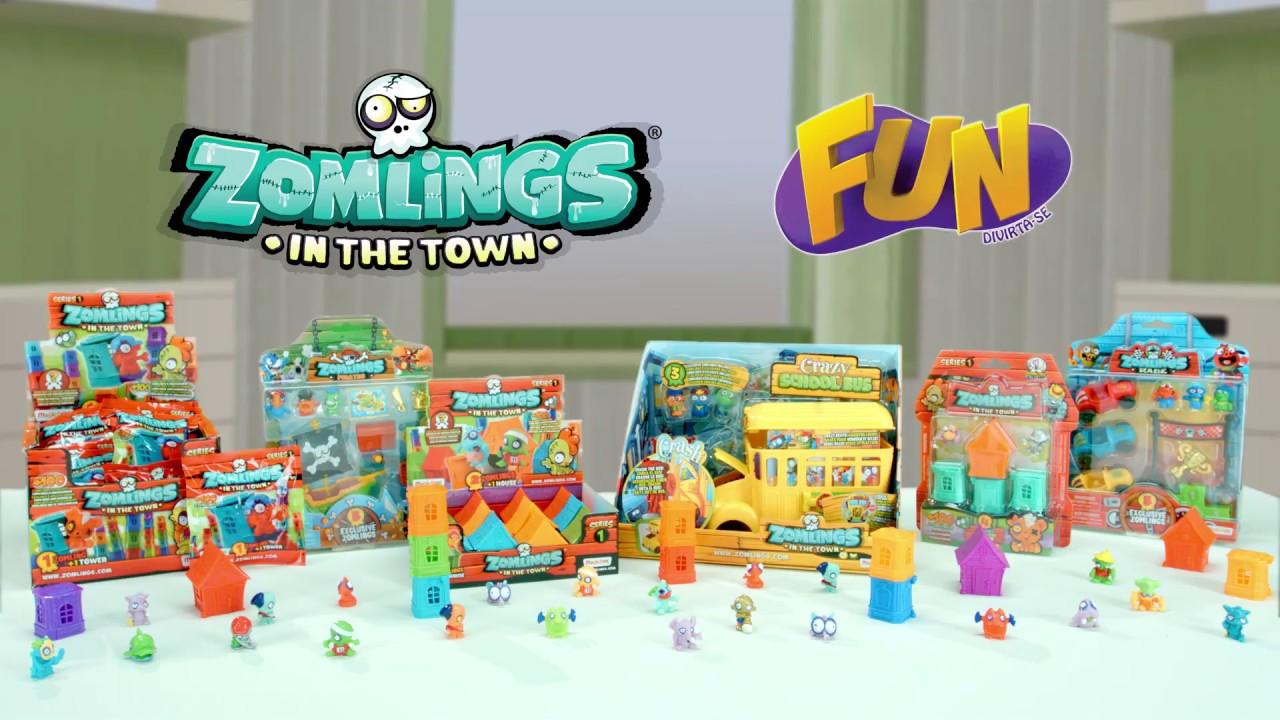Zomlings na cidade