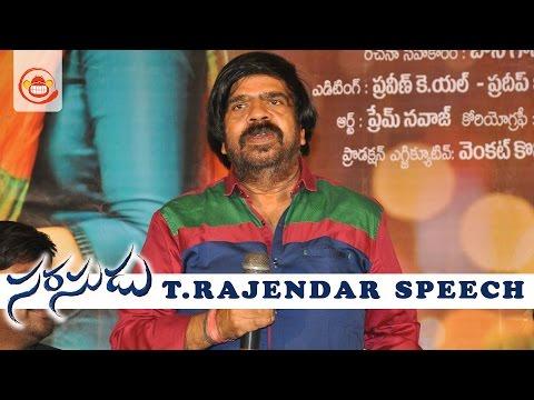 Video T Rajendar Speech at Sarasudu Audio Launch - Simbu || Manchu Manoj download in MP3, 3GP, MP4, WEBM, AVI, FLV January 2017