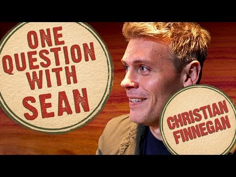 Christian Finnegan: Hecklers Without a Clue - One Question with Sean
