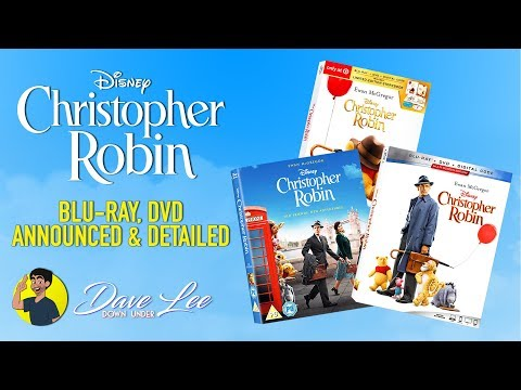 CHRISTOPHER ROBIN - Blu-ray, DVD Announced & Detailed