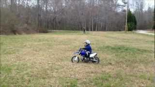 10. My 4yr old son Mack's first two days on his 2007 Yamaha TTR50