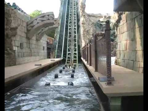 Gardaland - My POV of Fuga da Atlantide at Gardaland, Italy and was shoot in july 2007. Fuga da Atlantide is a Super Splash-ride from Intamin, and opened in 2003. Watch ...