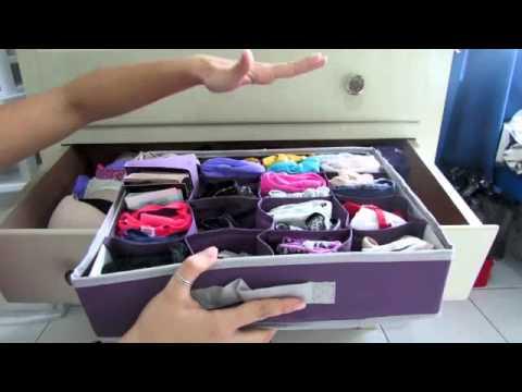 Como organizar mi hogar videos videos relacionados con como organizar mi hogar - Organizador de ropa interior ...