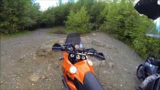 8. Hill Climbs, Muddy Trails, and Locked Gates -  KTM 950, 990 Adventure