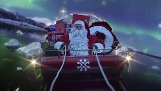 VIDEO FROM SANTA LEAVING THE NORTH POLE | Watch Santa Take Off From The North Pole