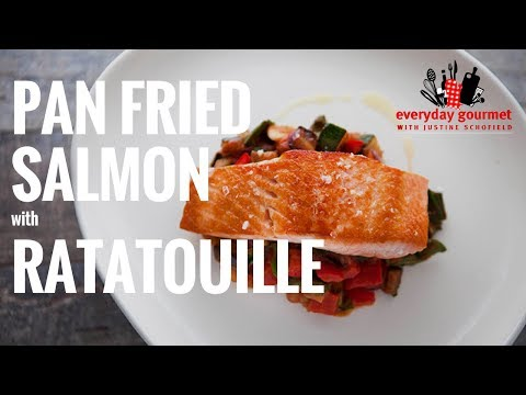Tefal Pan Fried Salmon with Ratatouille | Everyday Gourmet S6 EP47