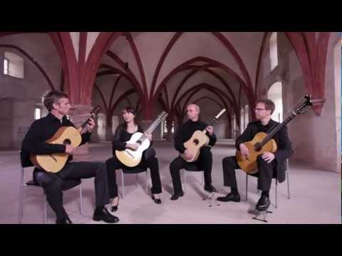 guitarquartet - http://www.bgq.de The BARRIOS GUITAR QUARTET is considered one of the outstanding ensembles of the new generation. With their sensitive, dynamic and precise ...