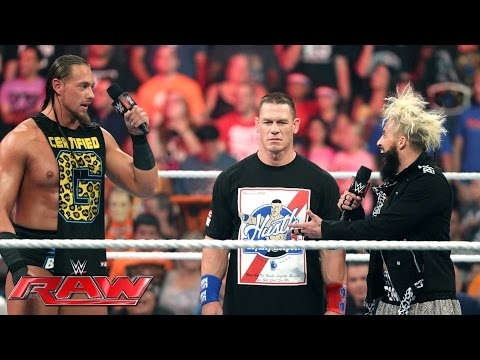 John Cena, Enzo Amore & Big Cass spark a war of words: Raw, July 18, 2016