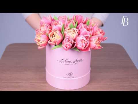 Цветы в картонной коробке своими руками 80