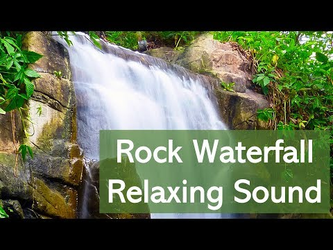 Relaxing Sound Of Powerful Waterfall | Sounds For Sleep | Water White Noise | Nature Sound