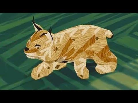 СИМУЛЯТОР ДИКОЙ КОШКИ #18 Кид стал маленьким котенком рысью виртуальный питомец #КИД #ПУРУМЧАТА