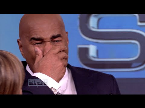 Steve Harvey Breaks Down After Seeing His Mama's House