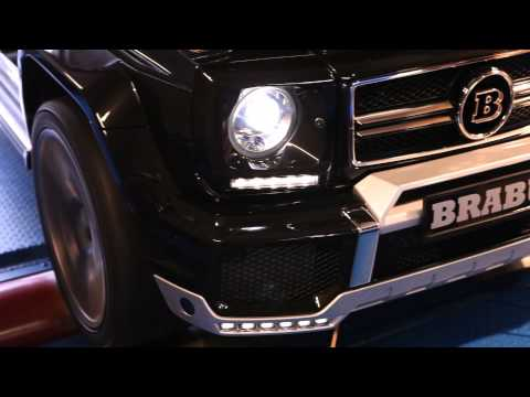 Mercedes Benz G63 AMG   B62 620 Widestar Edition | By BRABUS