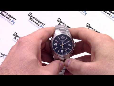 Часы Casio EDIFICE EF-125D-2A [EF-125D-2AVEF] - видео обзор от PresidentWatches.Ru (видео)