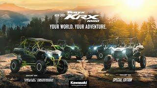 Teryx #KRX1000 #YourWorldYourAdventure New 2021 Teryx KRX 1000 Lineup
