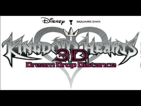 "Kingdom Hearts 3D: Dream Drop Distance - Traverse Town Battle - ""Dreaming Demons"""