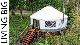 Video Amazing Modern Yurt Is A Design Marvel MP3, 3GP, MP4, WEBM, AVI, FLV September 2019