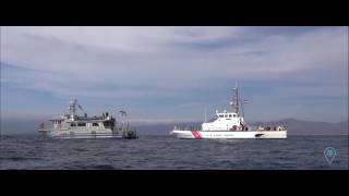 During a joint NOAA - US Coast Guard remotely operated vehicle training mission in October 2016, we confirmed the historic ...