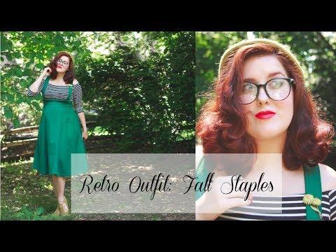Retro OOTD: Fall Staples