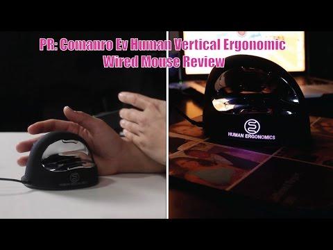 (4K)PR: Comanro Ev Human Vertical Ergonomic Wired Mouse Review