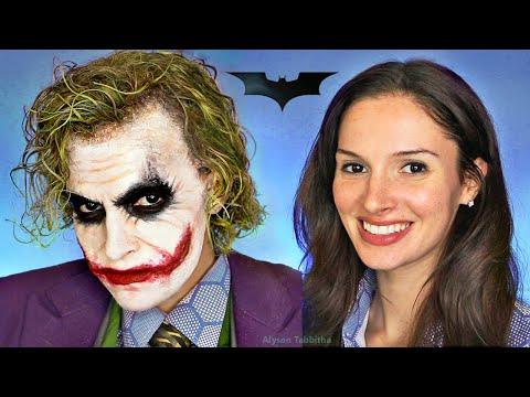 Joker (The Dark Knight) Makeup Transformation