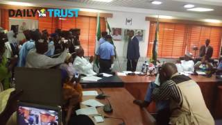 Police: Handing over ceremony to the new acting IGP, Ibrahim Idris