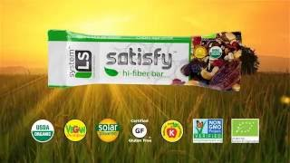 Meet Our-Science Backed Satisfy Bar...