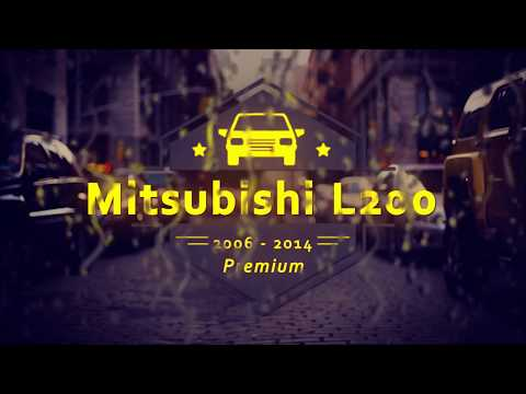 "Чехлы на Mitsubishi L 200, серии ""Premium"" - черная строчка"