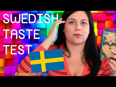 SWEDISH FOOD TASTE TEST #1 | SWEDEN / IKEA | VIVIAN REACTS (видео)