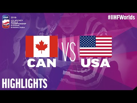 Canada Vs. USA - Game Highlights