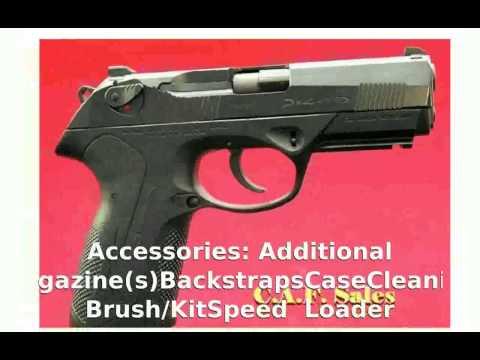 Beretta Px4 Storm Full Type G 9mm Makarov Pistol