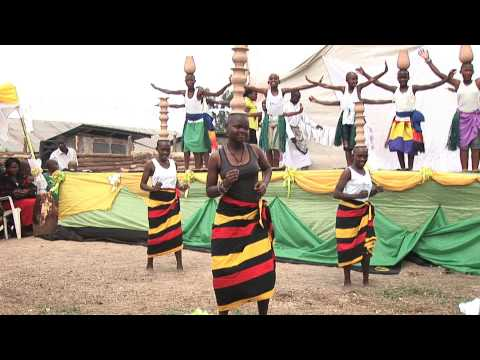 CA Kabale pupils perform for Better Globe visitors in 2011