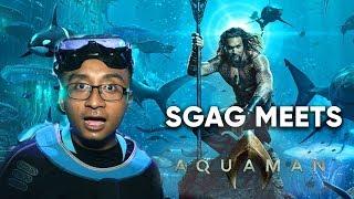 Video SGAG Meets Aquaman MP3, 3GP, MP4, WEBM, AVI, FLV Desember 2018