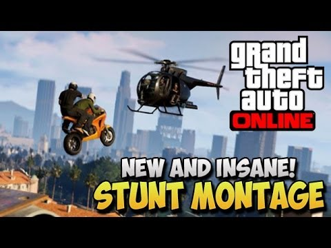 montage - GTA 5 Stunts - Insane Stunts Montage - Stunt Compilation