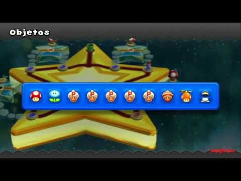Guia New Super Mario Bros U 100% Final Mundo 9 - Senda Superestrella